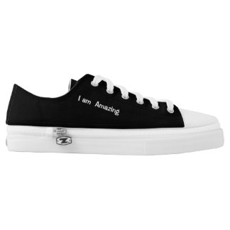 I am  amazing low tops