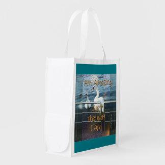 I am amazing reusable grocery bag