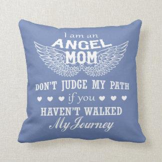 I Am An Angel Mom Cushion