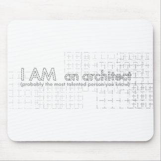 I AM an architect Mouse Mat