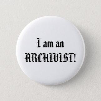 I am an Archivist Button