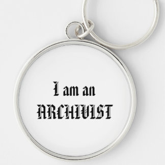 I am an Archivist Key Chain