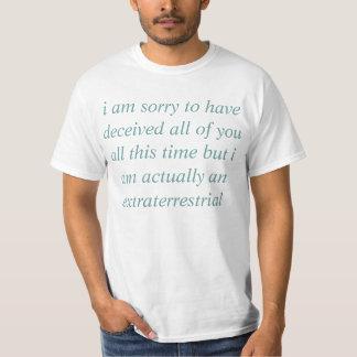 i am an extraterrestrial T-Shirt