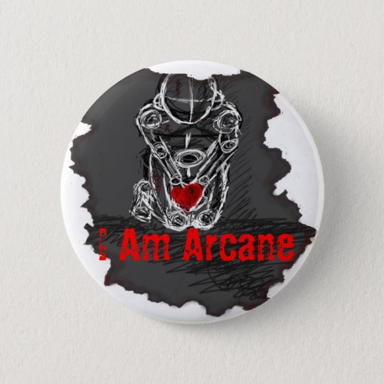 I Am Arcane Button