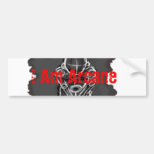 I Am Arcane Sticker