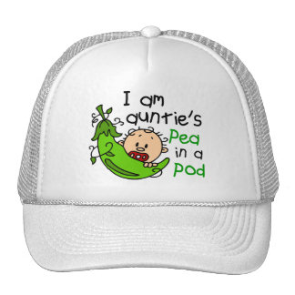 I Am Auntie's Pea In A Pod Mesh Hat