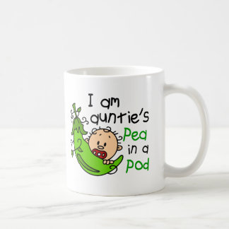 I Am Auntie's Pea In A Pod Mugs