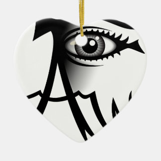 I Am Awake Christmas Ornament