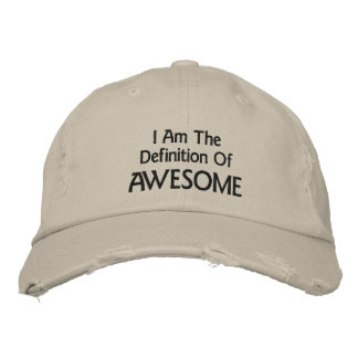 I Am Awesome Embroidered Baseball Cap