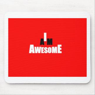 I Am Awesome Mouse Pad