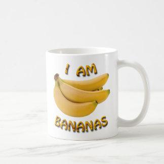 I Am Bananas Classic White Coffee Mug