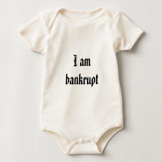 I am bankrupt baby bodysuit