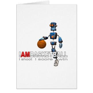 I am basketball Robot Card