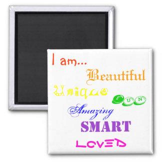 I am Beautiful Magnet
