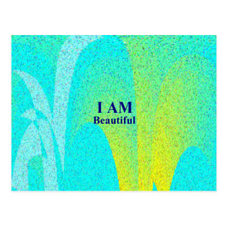 I AM Beautiful.png Postcards