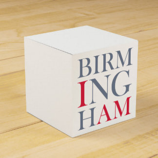 I Am Birmingham Favour Box