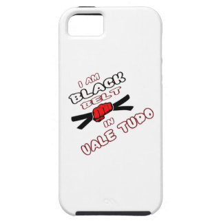 I am Black belt in Vale Tudo. iPhone 5 Case
