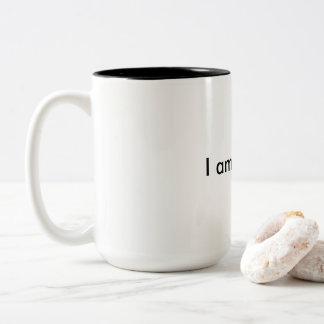 I am brilliant Two-Tone coffee mug