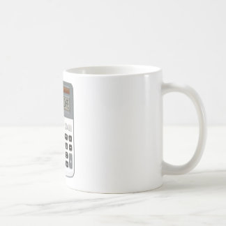 I am broke basic white mug
