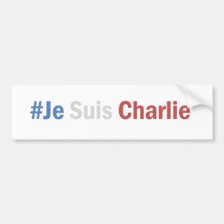 I am Charlie Autocollant Bumper Sticker