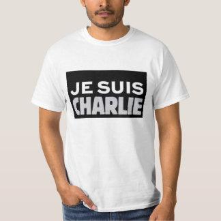 I AM CHARLIE, JE SUIS CHARLIE TSHIRT
