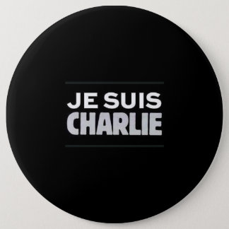 I am Charlie swipe in 6 Cm Round Badge