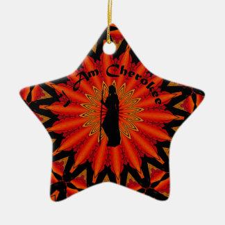 I am Cherokee Christmas Ornament
