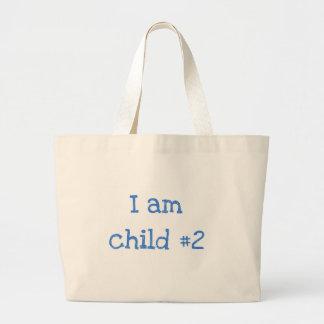 I am child #1 tote bag