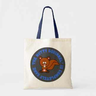 I am completely sane2 budget tote bag