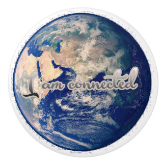 I am connected earth ceramic knob