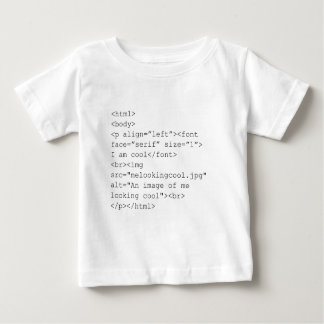 """I Am Cool"" HTML Coding Tee"