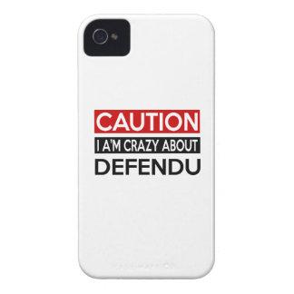I A'M CRAZY ABOUT DEFENDU iPhone 4 Case-Mate CASES