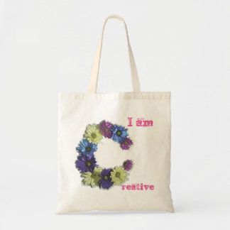 I am Creative flower affirmation