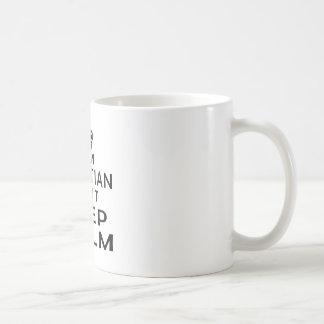 I am Croatian I can't keep calm Basic White Mug