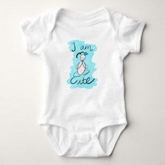 'I am Cute' Baby Bodysuit