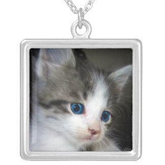 I AM CUTE FROM HEAD TO TOE SQUARE PENDANT NECKLACE