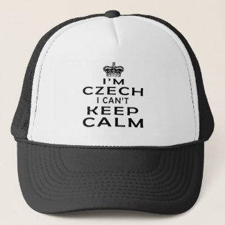 I am Czech I can't keep calm Trucker Hat