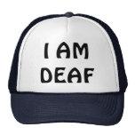 I AM DEAF CAP