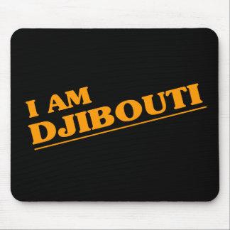 I am Djibouti Mouse Mat