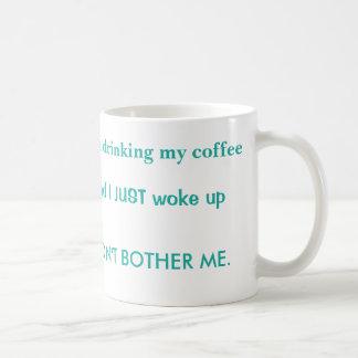 I am drinking coffee Morphing mug