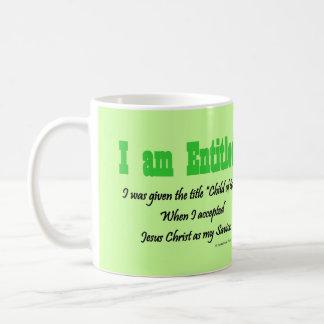 I am entitled mug
