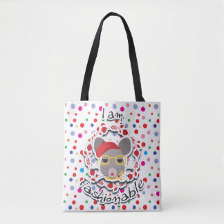 I AM FASHIONABLE SERIES TOTE BAG