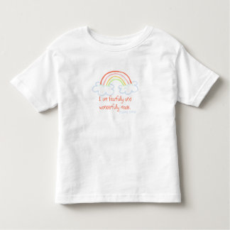 I Am Fearfully And Wonderfully Made Toddler T-Shirt