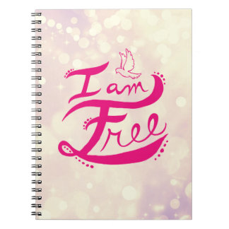 I Am Free Notebook