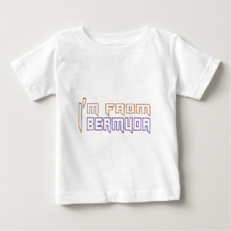 I am from Bermuda Baby T-Shirt