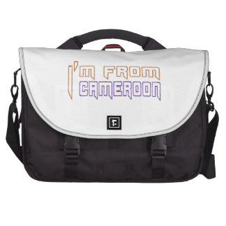 I am from Cameroon. Laptop Commuter Bag
