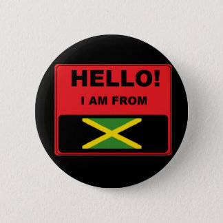 """""""I Am From Jamaica"""" Badge"""