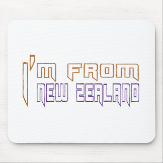 I am from New Zealand. Mouse Pad