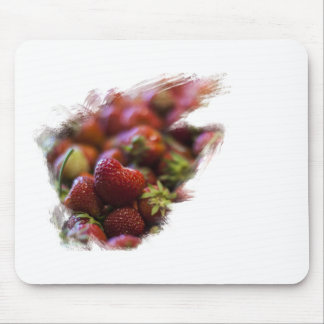 I am full of strawberries inside mouse pad