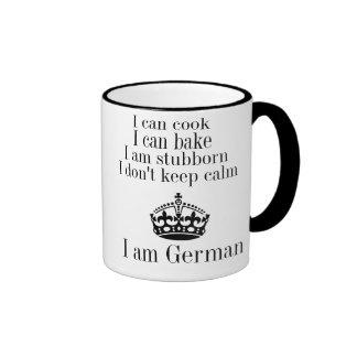 I am german mugs
